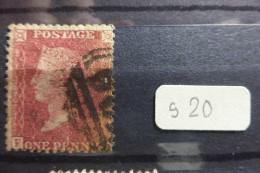 GB 1p Rouge 1855  Scott 20 - 1840-1901 (Viktoria)