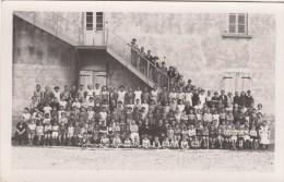 MONSOLS (69)  PHOTO CARTE - COLONIE DE VACANCES ? - PHOTO CLAUDE A VILLEFRANCHE - France