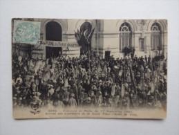 89 SENS L´Hôtel-de-Ville Concours De Pêche Du 11 Sept 1905 Du Petit-Journal Pêcheurs Animée Légende - Sens