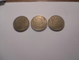 50 FRANCS LOT 1949 ALGERIE TURIN - Algérie
