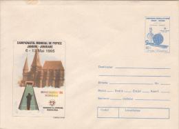 38042- BOWLING WORLD CHAMPIONSHIP, COVER STATIONERY, 1995, ROMANIA