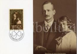 ROYALTY / Liechtenstein / Aloïs De Liechtenstein / Franz Joseph II / 1981 - Cartes-Maximum (CM)