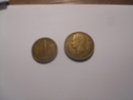 25 FRANCS 10 FRANCS TOGO  1956 - Monnaies