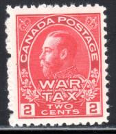 Canada Scott #MR2 1915 ** War Tax MNH - War Tax