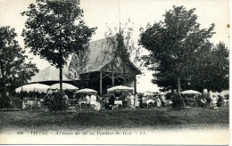 CPA 88 Vosges VITTEL A L'Heure Du Thé Au Pavillon Du Golf - France