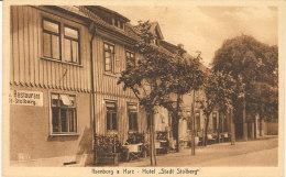 """ILSENBURS  A. HARZ - Hotel """" Stadl Stolberg """" Restaurant - Ilsenburg"""