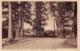 CPA SAINTE GENEVIEVE DES BOIS 91 - Villemoison - Carrefour Des Six Chênes - Sainte Genevieve Des Bois