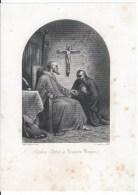 Charles Quint Et François Borgia - Lithographies