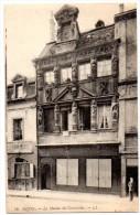 Cpa La Maison Des Cariatides - Dijon