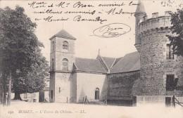 Cp , 03 , BUSSET , L´Entrée Du Château - France