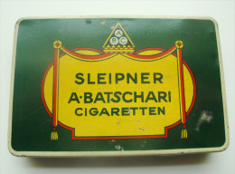 Batschari Cigaretten Blechschachtel Für 25 Zigaretten - Etuis à Cigarettes Vides