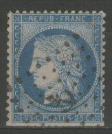 """N°60A Oblitéré """"ANCRE""""      - Cote 25€ - - 1871-1875 Ceres"""