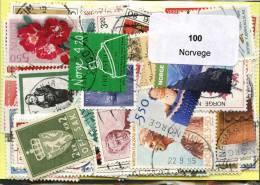 100 Timbres Thème Norvege - Norwegen