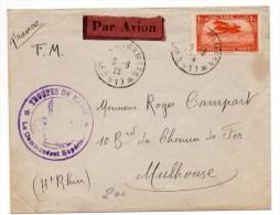 1923 - ENVELOPPE FM POSTES AUX ARMEES 417 Avec CACHET TROUPES DU MAROC - Morocco (1891-1956)