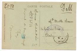 "CP FM Avec CACHET ""AMBULANCE DE DAR DEBIGAH"" à FEZ (MAROC) - Marruecos (1891-1956)"