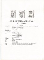 AUSTRIA IMPERFORATE BLACK PROOF ON POST OFFICE DOCUMENT CLOCK WATCHES - Relojería