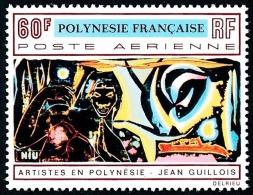 POLYNESIE 1970 - Yv. PA 42 **   Cote= 21,00 EUR - Tableau De Jean Guillois ..Réf.POL23061 - Poste Aérienne