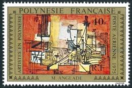 POLYNESIE 1975 - Yv. PA 99 **   Cote= 7,00 EUR - Tableau De M Anglade ..Réf.POL22839 - Poste Aérienne