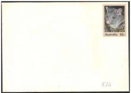 Australia/Australie: Intero, Stationery, Entier, Opossum Brushtail Montagna, Mountain Brushtail Possum - Stamps