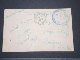 FRANCE - Carte En FM Du Croiseur Primauguet Pour La France - Force Navale D´extrème Orient - Juin 1932 - Rare - P17143 - Postmark Collection (Covers)