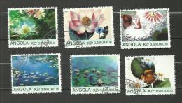 "Angola Année 2000 ""Nénuphars"" - Angola"
