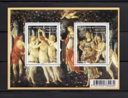France 2010.Bloc/feuillet.Botticelli - Blocs & Feuillets