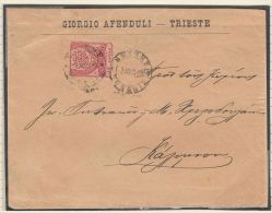 26035  Collection Of Smyrna Cancellations On 35 Stamps And 1 Cover - Turkey