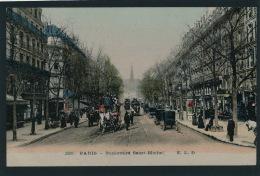 PARIS - Vème Arrondissement - Boulevard Saint Michel - Arrondissement: 05