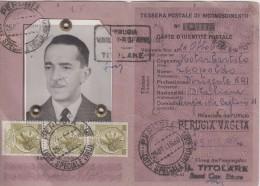 Tessera Postale Di Riconoscimento 1960 - Unclassified