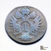 Austria - 1 Kreuzer - 1800 - Austria