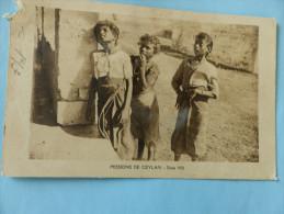 Missions De CEYLAND - Série VIII (en L'état) - Postcards