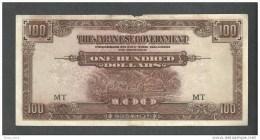 Japan Occupation  100  Dollars Bank Note - Japan