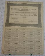 Sté Franco-Anglaise Des Manufactures D'Aubusson Sous La Raison Sallandrouze De Lamornaix Et Cie De 1836 - Industrie