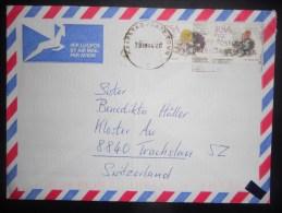 Afrique Du Sud Lettre De Cape Town 1993 Pour Trachslau - Afrique Du Sud (1961-...)