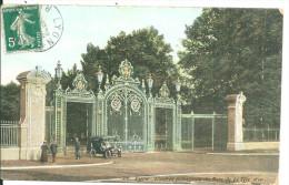 Lyon    Parc De La Tete D´or L´entrée - Lyon