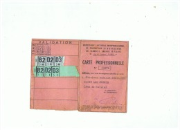 CARTE PROFESSIONNEL DES SEMENCES GRAINES ET PLANTS à   SAINS LES PERNES (P D C )1949 - 2. Semi