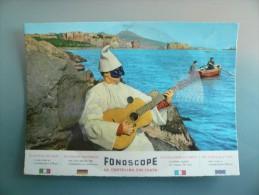 Cartolina Disco - Fonoscope - Napoli - Pulcinella - Torna A Surriento - Enrico Gentile -  Non Viaggiata - Musica E Musicisti
