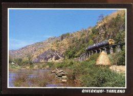 CPM Neuve Thaïlande Riverkwai Le Chemin De Fer De La Mort à Kanchanaburi Train - Thaïland