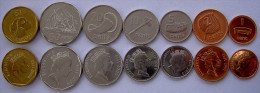 FIJI 2000-2009  SERIE 7 MONETE  1$  50-20-10-5-2-1 CENT FDC UNC - Fiji