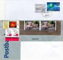 2 Briefe Mit Schöner Mef Österreich + Deutschland - Autres - Europe