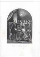 Henri IV Et Jean Chatel - Lithographies