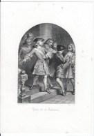 Louis XV Et Damiens - Lithographies