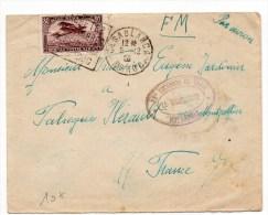 1928 - ENVELOPPE FM De CASABLANCA(MAROC) Avec DAGUIN & CACHET Du 28° ESCADRON DU TRAIN / HIPPOMOBILE - Briefe U. Dokumente