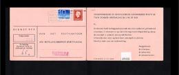 1977 - Netherlands Surcharge Card - 65c - Bussum [HG065] - Period 1949-1980 (Juliana)
