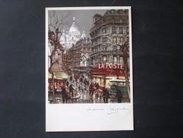 POSTCARD FRANCIA PARIGI - France