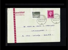 1978 - Netherlands Lettersheet - 50c + Added Stamp 5c [HG075] - Postal Stationery