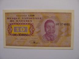 Billet 10 Francs Katanga 1960 - Katanga