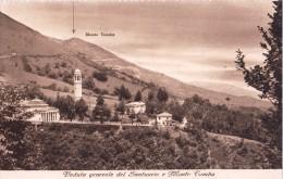 SANTUARIO MADONNA DEL COVOLO E MONTE TOMBA CRESPANO DEL GRAPPA-ORIGINALE D´EPOCA-BEN CONSERVATA-2 SCAN. - Treviso