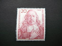 Germany Allemagne 1957 MNH #Mi. 253 Paul Gerhardt - [7] Federal Republic
