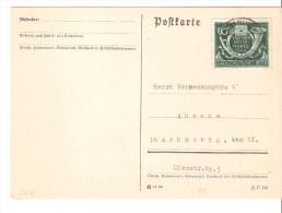 Tarjeta Postal Con Matasellos Limburg 1944 - Deutschland